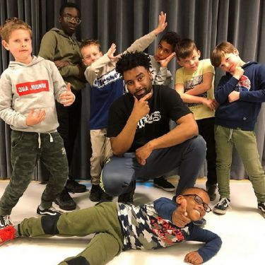 Hiphop boys only class